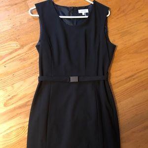 Classic Calvin Klein black dress